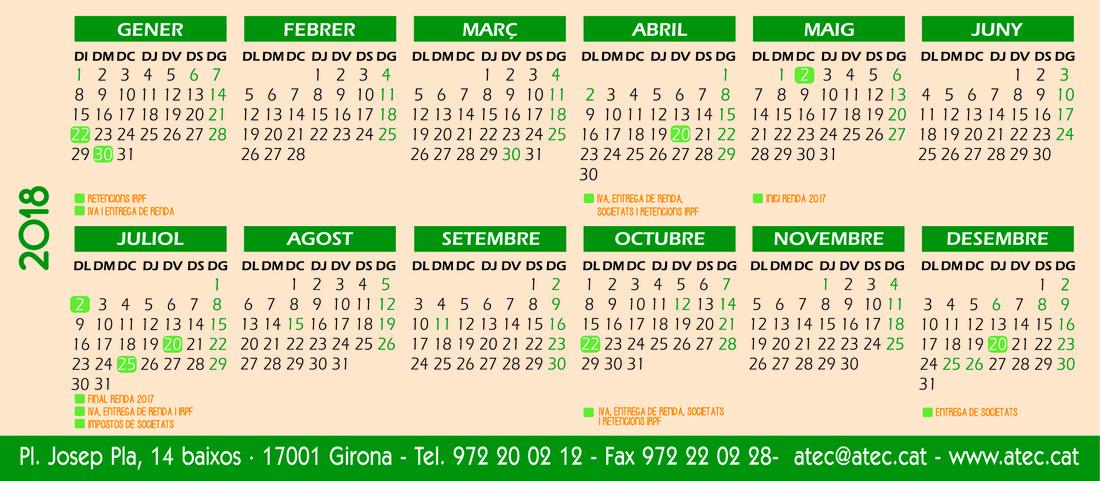 Calendari fi d'any